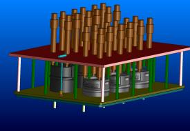 Vývoj forem a dílů, Omnipack, forma 2