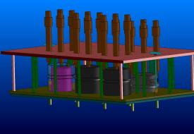 Vývoj forem a dílů, Omnipack, forma 3