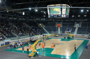 Ice-covertan-basketbalový-zápas