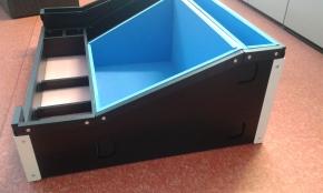 Kartonplastové obaly, výroba kitovacích paletek