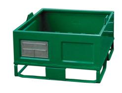 Kovová paleta - zelená