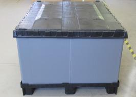 Skládací paletový Omnibox, 1200 x 1000 mm
